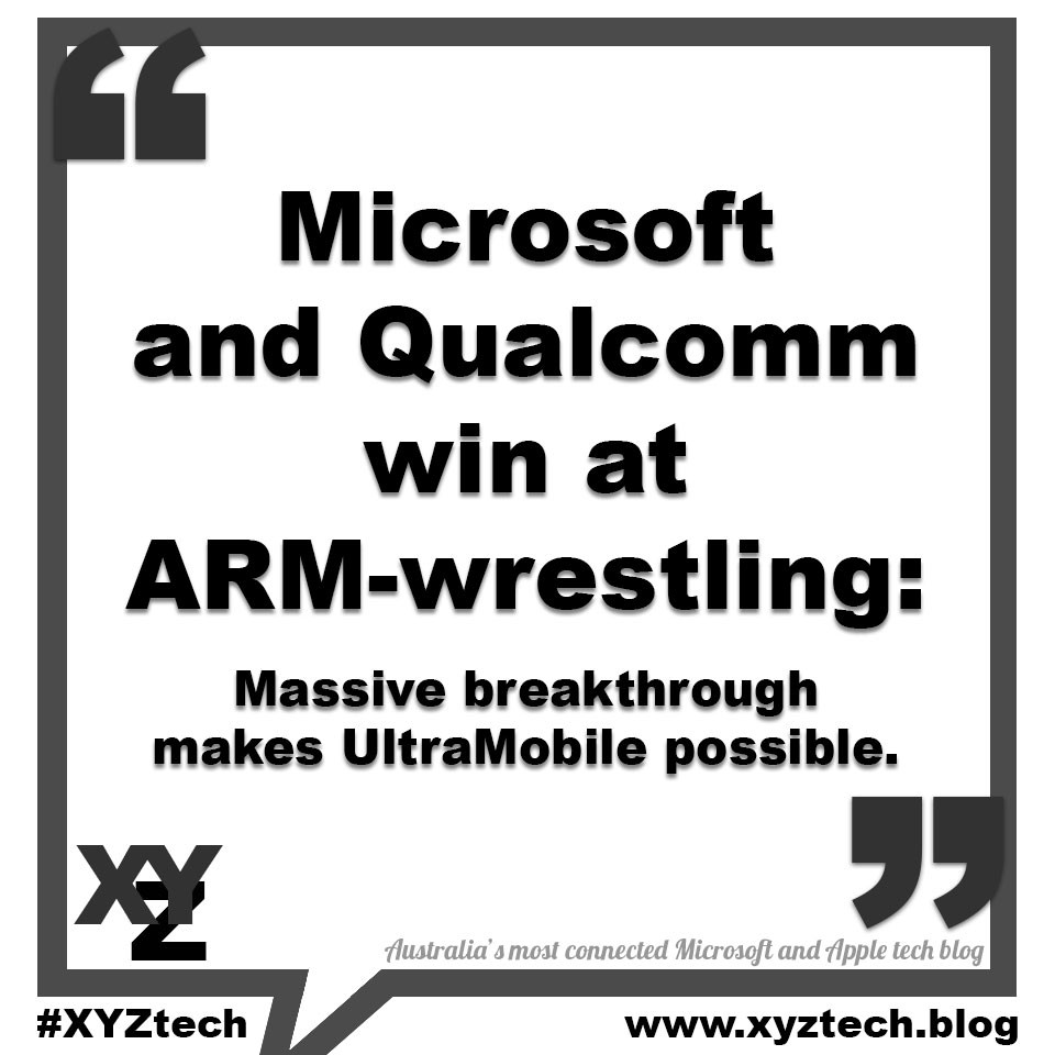 Microsoft and Qualcomm win at ARM-wrestling