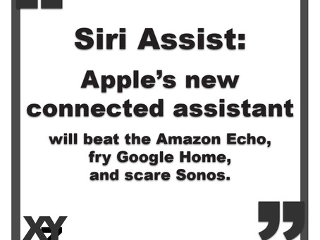 Siri Assist: Apple's new connected assistant