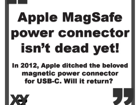 Apple MagSafe power connector:  isn't dead yet.