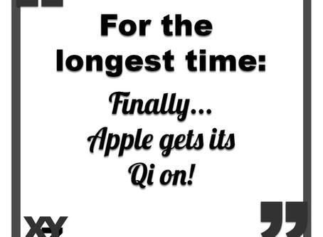 Apple gets its Qi on