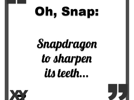 Snapdragon to sharpen its teeth