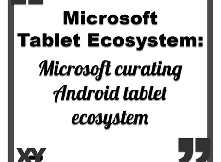 Microsoft curating Android tablet ecosystem