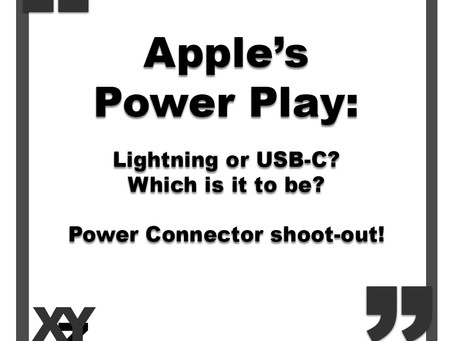 Apple's Power Play: Lightning or USB-C?