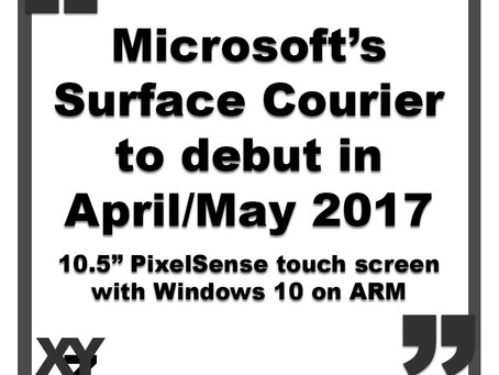 Surface Courier to debut as new Microsoft Qualcomm tablet