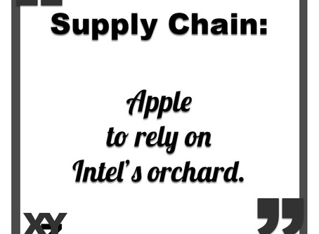 Apple to rely on Intel's orchard