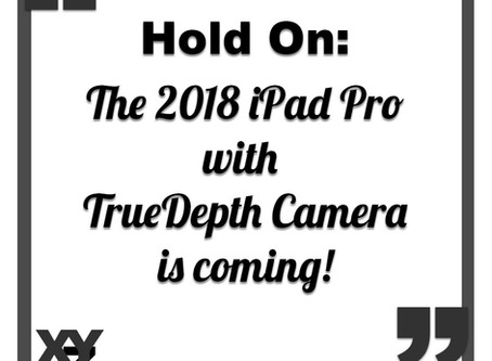 The 2018 iPad Pro with TrueDepth Camera