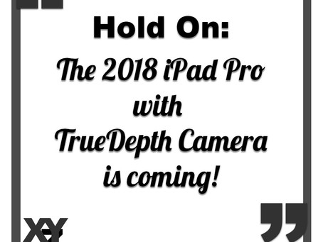 The 2018 iPad Pro with TrueDepth Camera