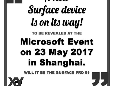 New Surface Device to be released on May 23
