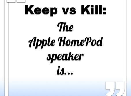 Apple HomePod speaker is...