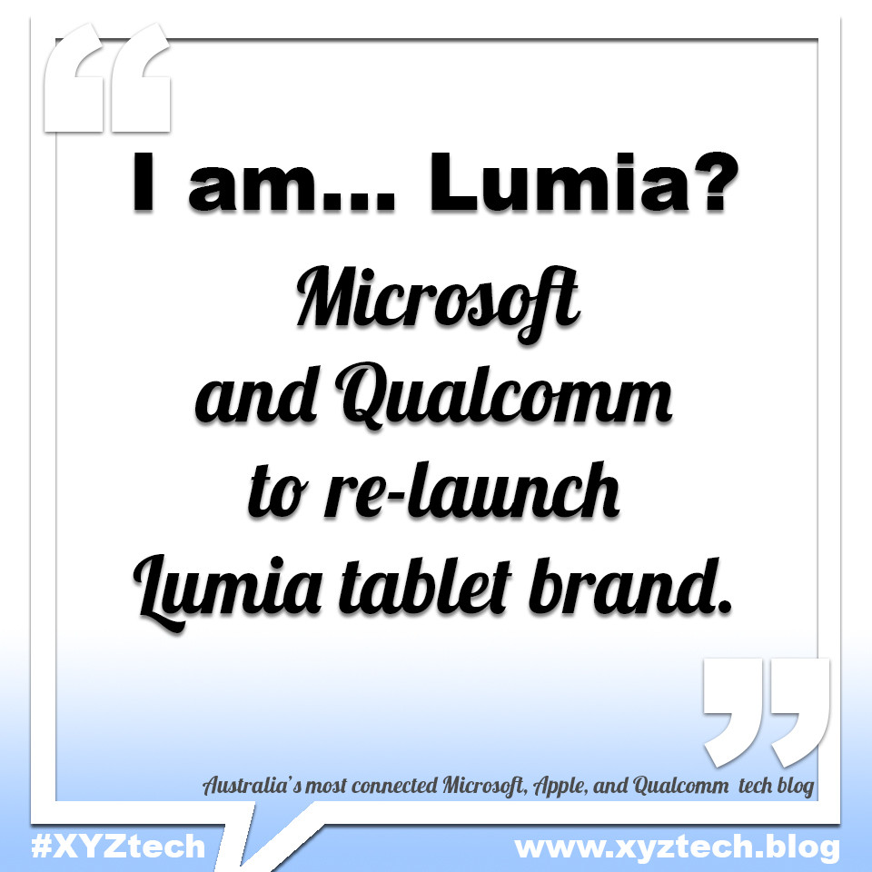 Microsoft Lumia tablet