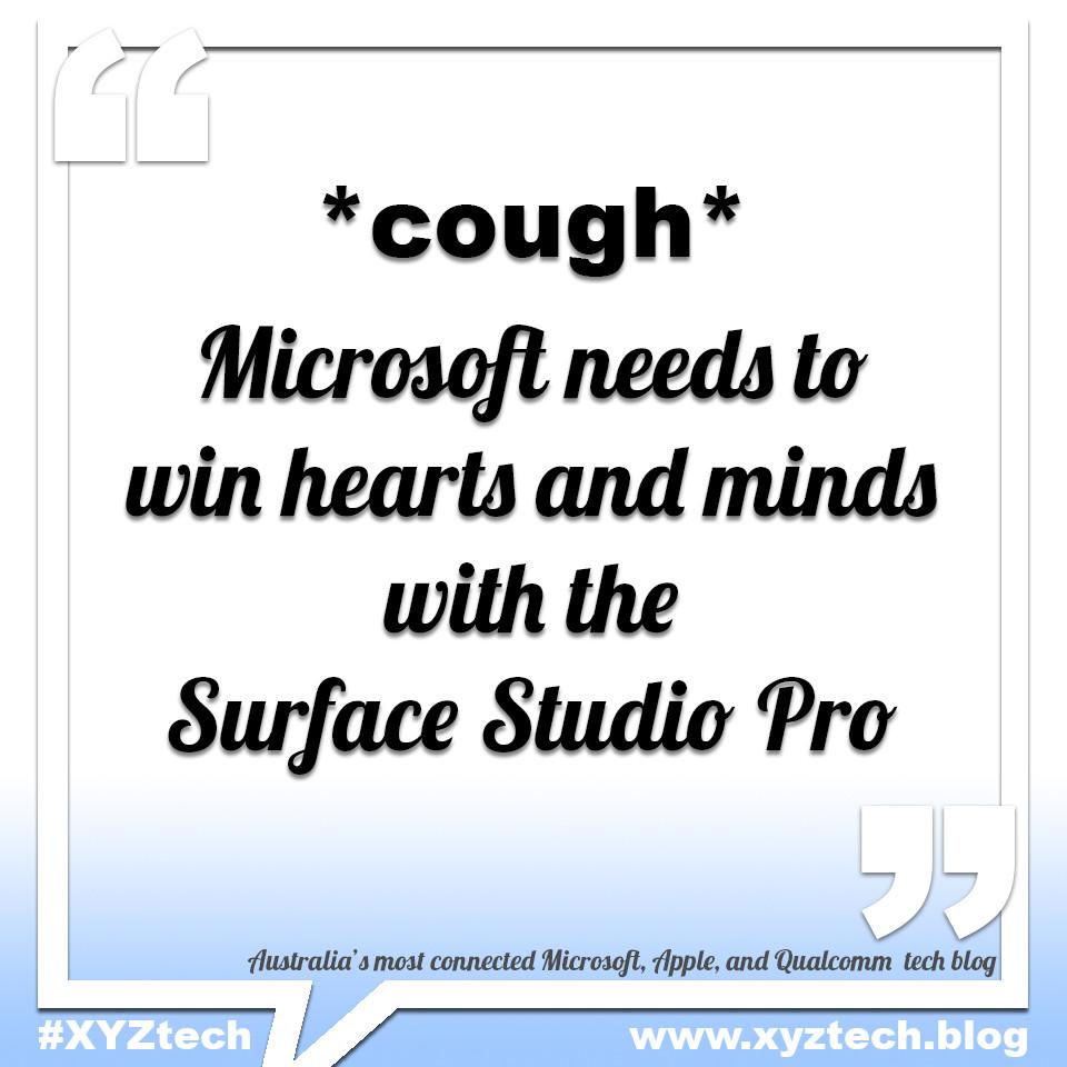Microsoft Surface Studio Pro #XYZtech