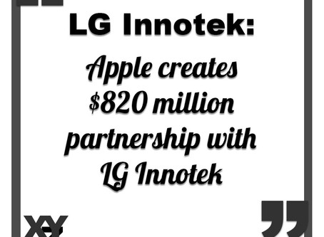 Apple creates $820 million partnership with LG Innotek