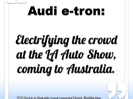 Audi e-tron GT coming to Australia