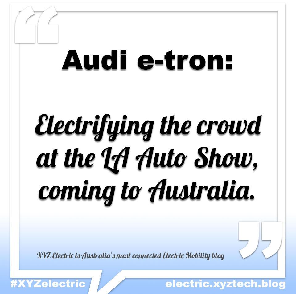 Audi e-tron GT, #XYZelectric