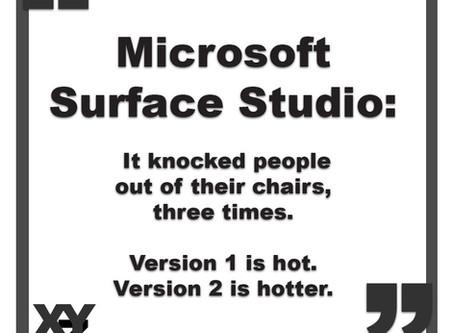 Microsoft Surface Studio: Version 2?