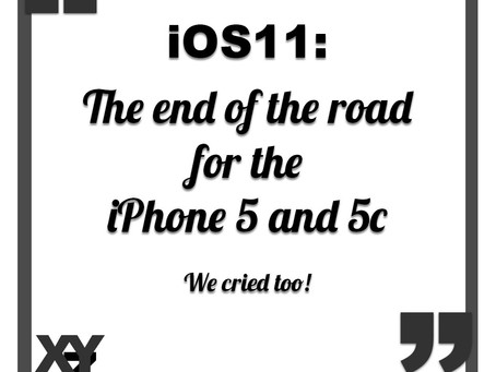 iOS11 is the end of the road for iPhone 5 and iPhone 5c