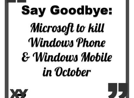 Microsoft to shut down Windows Mobile