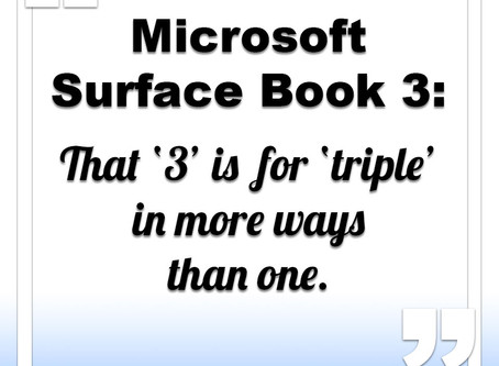 Microsoft Surface Book 3 to get two processors and 3 GPUs