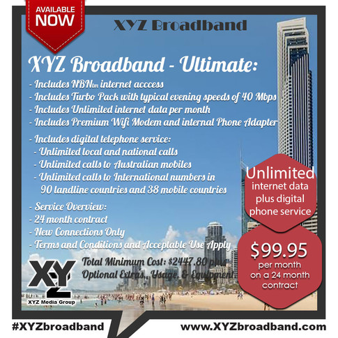 Ultimate Plan with Unlimited Data