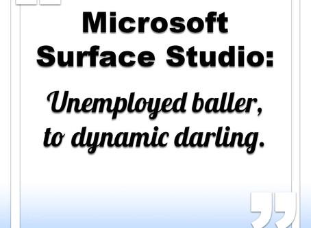 Microsoft Surface Studio needs work