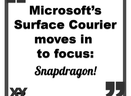 Surface Courier moves into focus