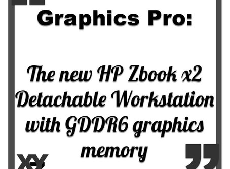 HP's new Zbook x2 to be first with GDDR6 graphics memory