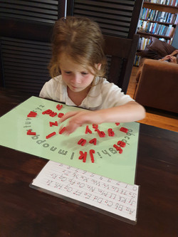 Discovering the wonder of letters
