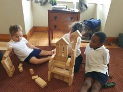 Pre-grades. Budding Architechts