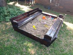 New sandpit!