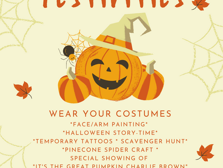 Halloween Festivities at Wild and Free