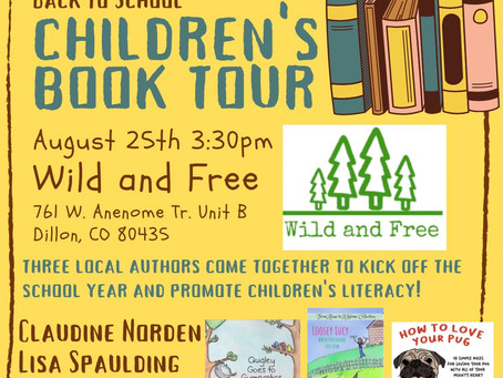 Local Author Book Tour at Wild and Free!