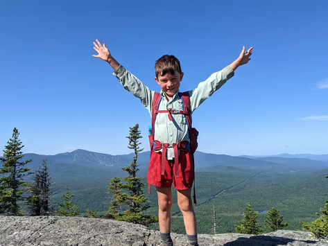 The Kid Who Hiked 2,100 Miles