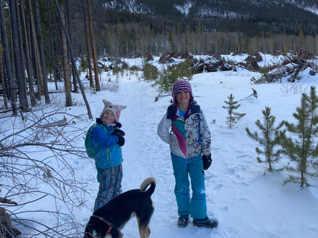 Winter Hiking with Kids