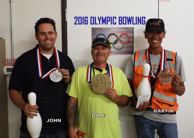 2016 Olympic Bowling Winners