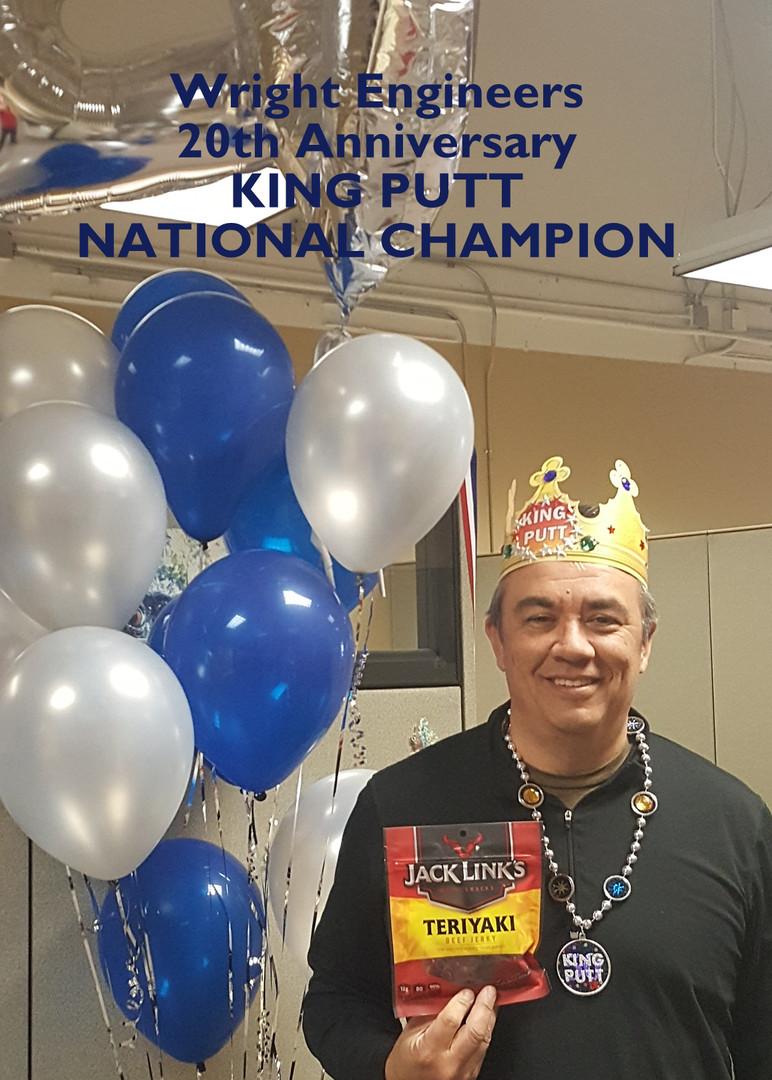 Bob the King Putt Champion