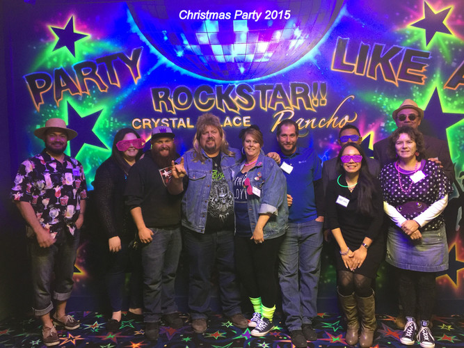 Christmas Party 2015 at Crystal Palace