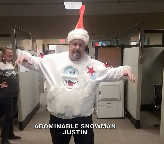 Justin the Abominable Snowman