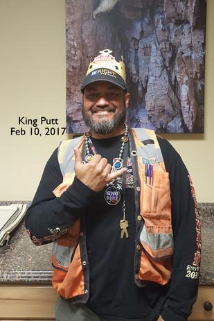 Sam the King Putt Champion
