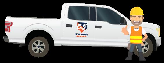 Southwest Geo Pickup Truck