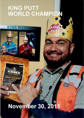 King Putt World Champion 2015