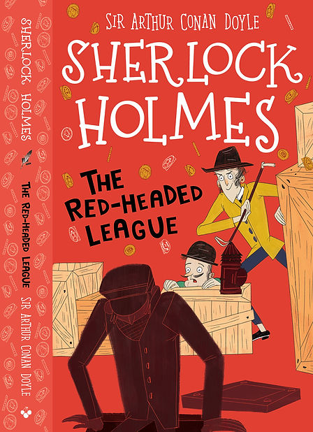 the Red-Headed League Cover