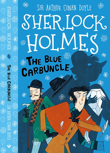 the Blue Curbuncle Cover