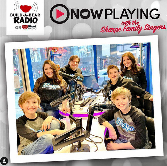 Now Playing With the Sharpe Family Singe