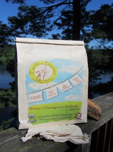 1kg (2.2.lbs) bag Earth's Berries Soap Nuts