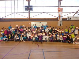 Rencontre athlétisme éveil athlé le 17/02/2018 à Breteil