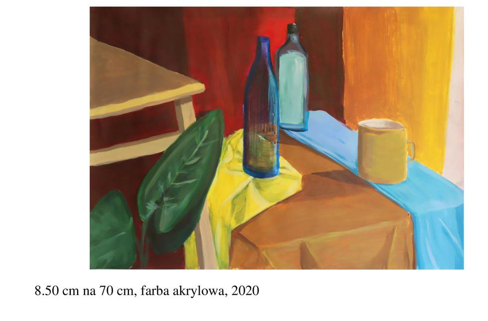 Teczka na Wydział Konserwacji 2021 - Kuba Filipek