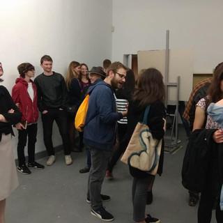 26.05.2018 - Studenci Edukacji Artystycznej i Medialnej UW i Grafiki Projektowania Multimedialnego ASP w Warszawie
