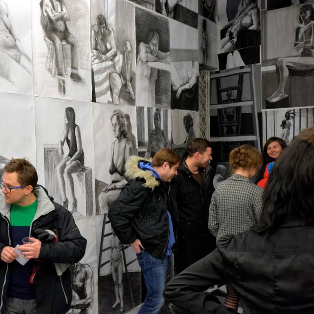 """04.03.2016 - Otwarcie Fundacji Galerii Autonomia i wernisaż wystawy """"be careful what you wish for""""."""