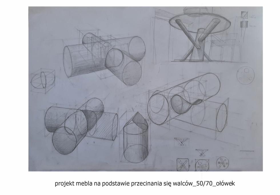 Teczka na Wydział Architektury Wnętrz 2021 - Agata Solecka