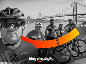 Nos conectamos também com o ciclismo